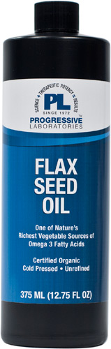 FLAX SEED OIL 375ML (12.75 OZ)