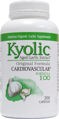 GARLIC - KYOLIC CAPSULE *200 COUNT*