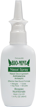 Bio Mint Nasal Spray