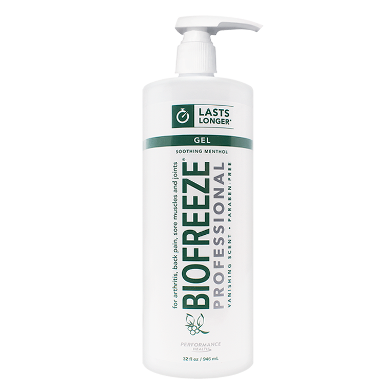 BIO FREEZE WITH ILEX (PUMP - 32 oz)