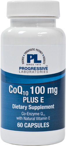 CO Q10 100 MG. PLUS E