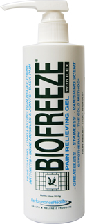 BIO FREEZE WITH ILEX (PUMP - 16 oz)