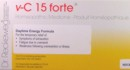 R15 RECKEWEG V-C15 FORTE-DAYTIME ENERGY 12AMPOULES