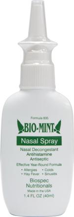 Bio Mint Nasal Spray