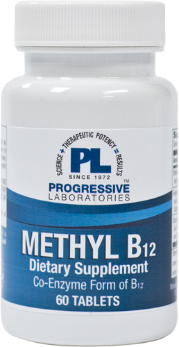 Progressive Laboratories :: Vitamins :: Vitamin B :: METHYL B12