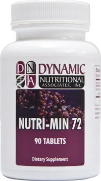 NUTRI-MIN 72