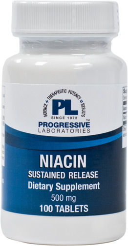 NIACIN 500 MG *SUSTAINED RELEASE*